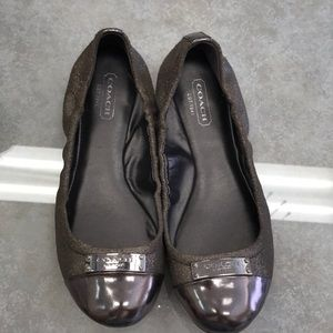 Preowned Coach Slip-ons